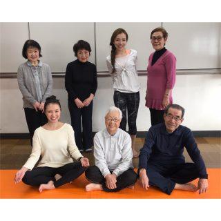 2019.2.14 シニアヨガ東京 Ayus Yoga
