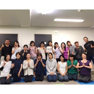 2019.10.29 出張ヨガ大阪 Ayus Yoga