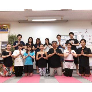 2019.9.3 出張ヨガ大阪 Ayus Yoga